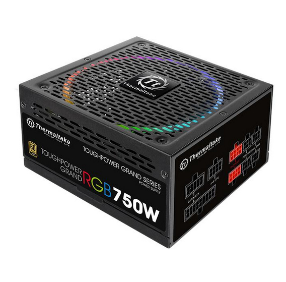 Блок питания Thermaltake Toughpower Grand RGB Gold (Fully Modular) 850W