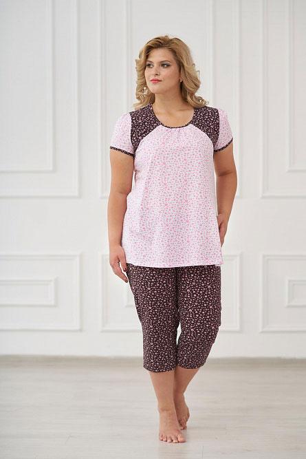 Пижама женская арт.0085 шоколад