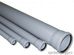 Труба канализационная ПП с раструбом 110х3000мм   111300 Птк (Арт. 111300)