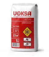 Противогололедный реагент сыпучий UOKSA Актив, 1 кг