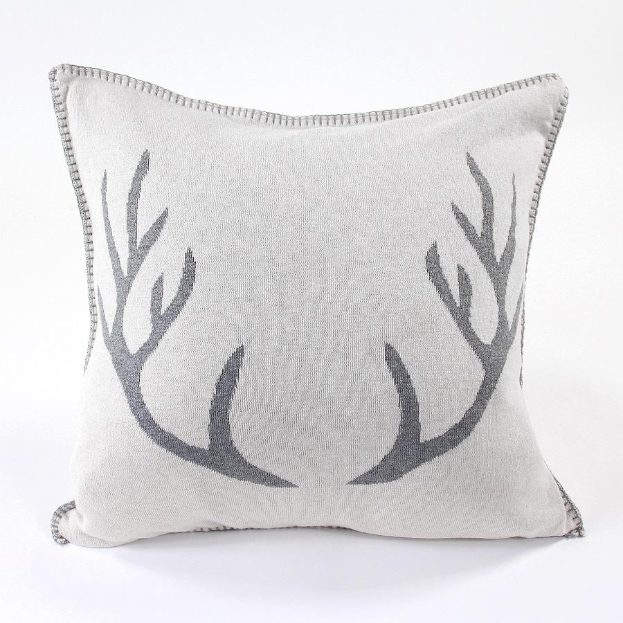 Подушка с орнаментом Deer, 45х45 см