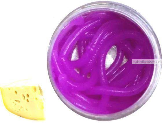 Мягкие приманки Neon 68 Лапша Доширак аромат: сыр / цвет:  Фиолетовый