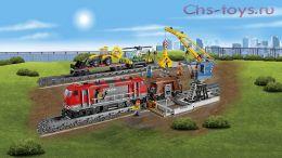 Конструктор LION KING Cities Мощный грузовой поезд 180028 (Аналог LEGO City 60098) 1033 дет