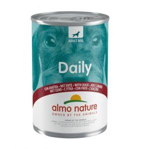 """Консервы Almo Nature Daily Menu - Duck для собак """"Меню  с уткой"""" 400гр"""