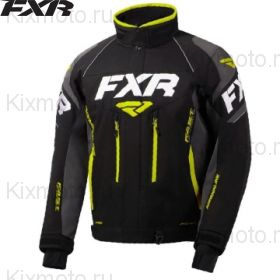 Куртка FXR Adrenaline, Черно-светоотражающая
