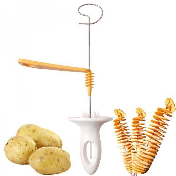 Нож для нарезки картофеля спиралью PRESTO
