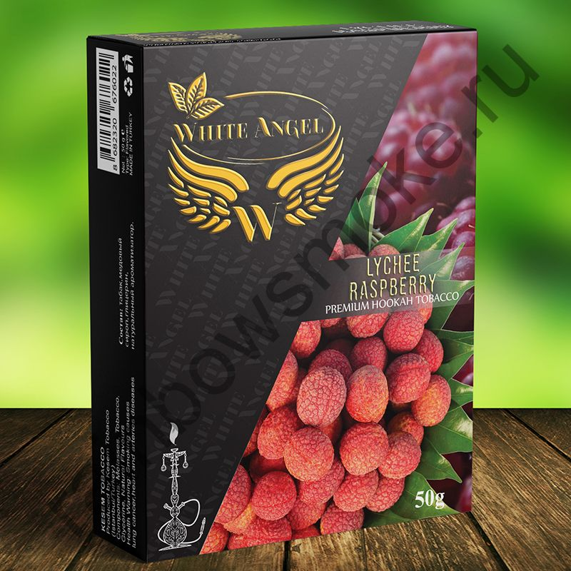 White Angel 50 гр -  Lychee Raspberry (Личи Малина)