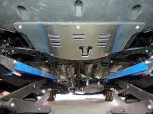 Защита днища, ТСС, три листа алюминий 4мм