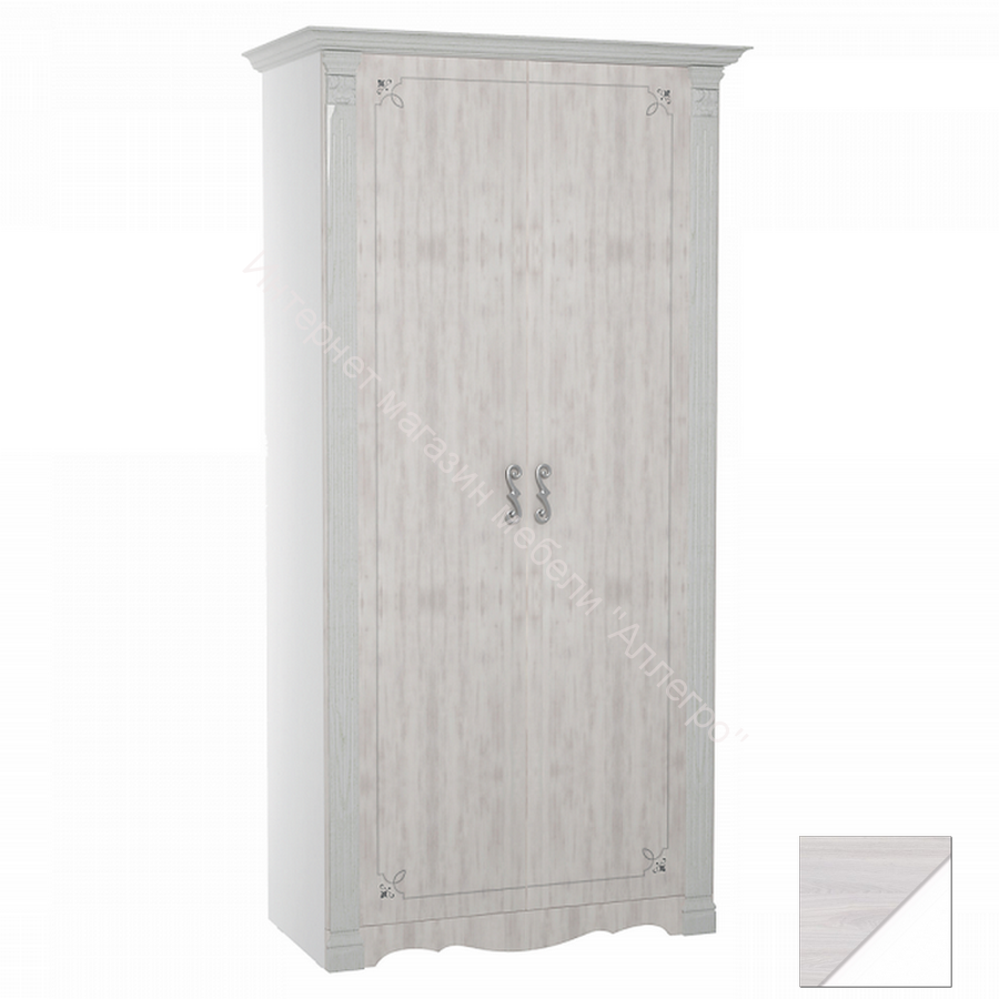 """Шкаф """"Ольга-1Н"""" 2-х дверный для одежды и белья"""