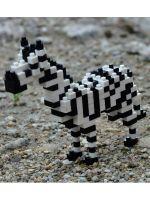 Конструктор Wisehawk & LNO Зебра 184 детали NO. D15 Zebra Gift Series