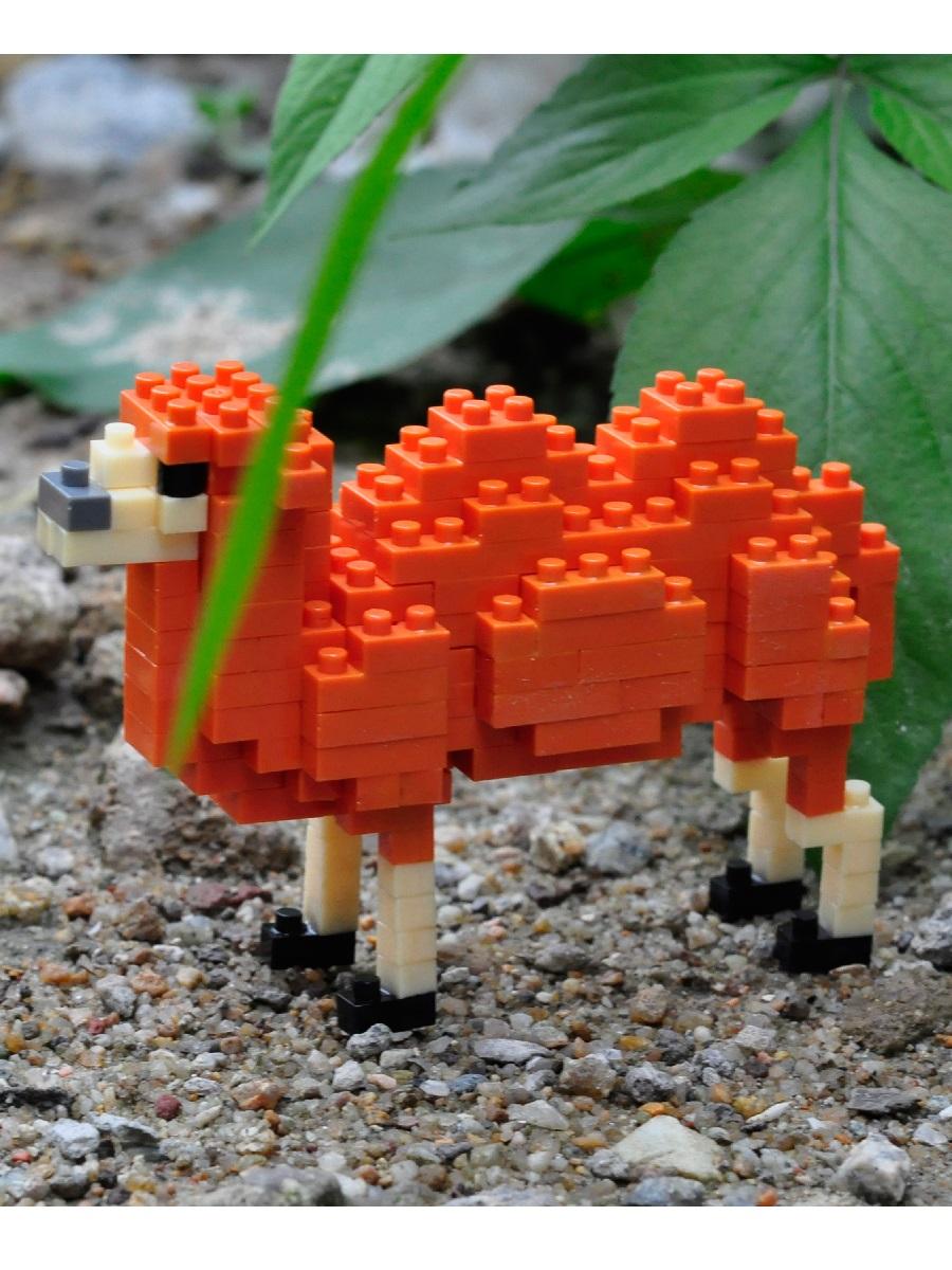 Конструктор Wisehawk & LNO Двугорбый верблюд 164 детали NO. D10 Bactrian Camel Gift Series