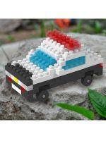 Конструктор Wisehawk & LNO Полицейская машина 101 деталь NO. b47 police car Gift Series