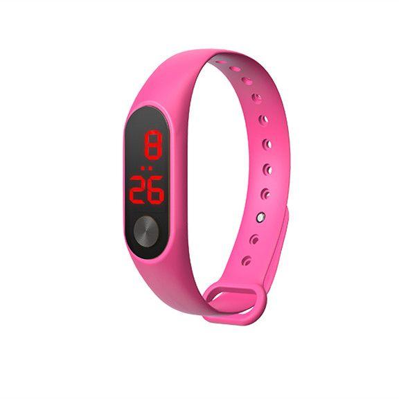 EZRA SW24 Розовые часы наручные