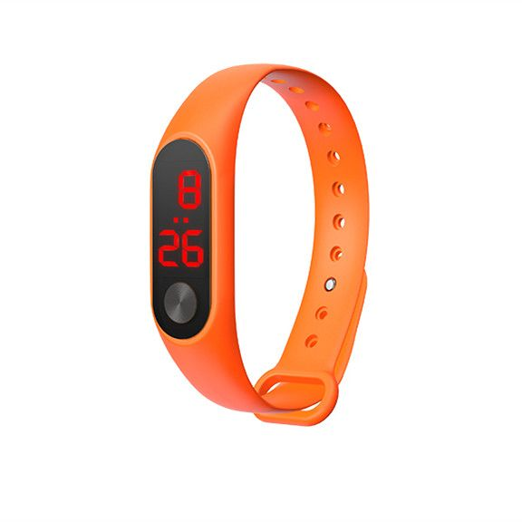EZRA SW24 Оранжевые часы наручные