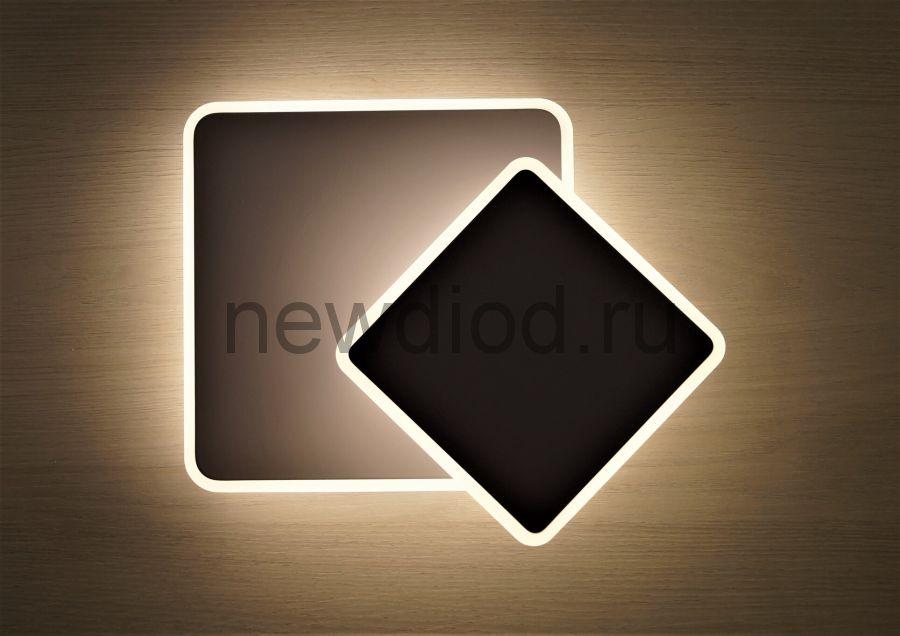 Светильник светодиодный поворотный GEOMETRIA 157S 20W 4000К 170*170mm Oreol