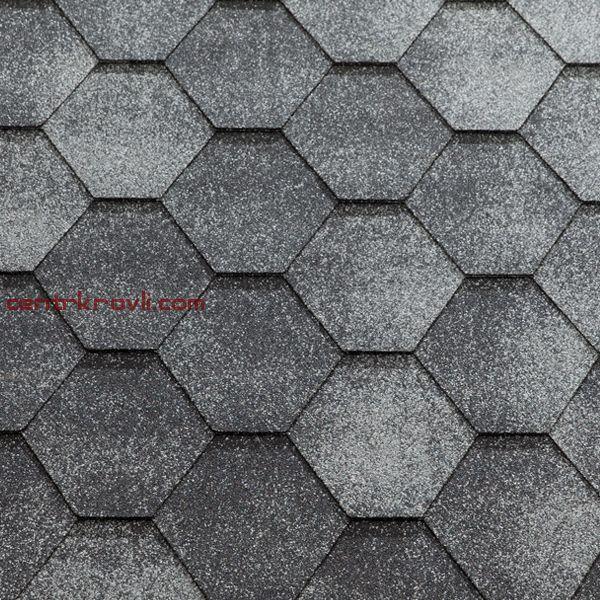 Гибкая черепица Katepal/Jazzy/Серый