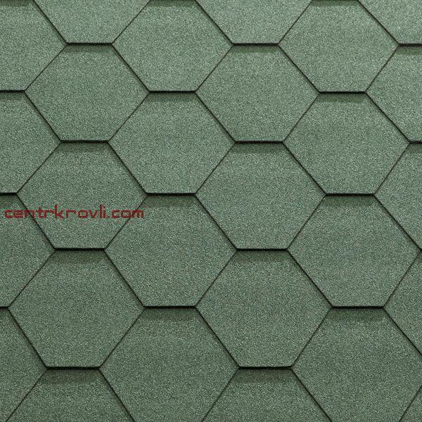 Гибкая черепица Katepal/KL/Зелёный