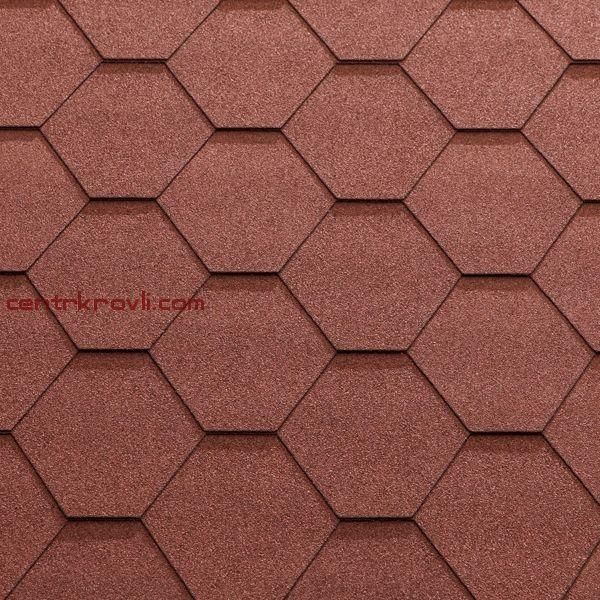 Гибкая черепица Katepal/KL/Красный