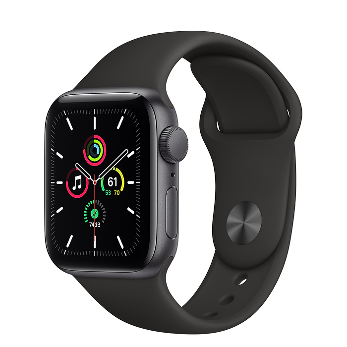 Умные часы Apple Watch SE GPS 40mm Aluminum Case with Sport Band
