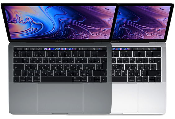 "Ноутбук Apple MacBook Pro 13 with Retina display and Touch Bar Mid 2019 (Intel Core i5 1400 MHz/13.3""/2560x1600/8GB/128GB SSD/DVD нет/Intel Iris Plus Graphics 645/Wi-Fi/Bluetooth/macOS) MUHN2 / MUHQ2"