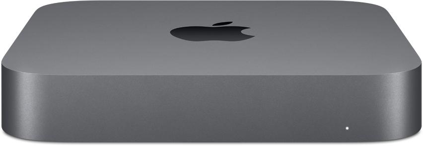 Настольный компьютер Apple Mac Mini (MXNF2RU/A) Intel Core i3-8100/8 ГБ/256 ГБ SSD/Intel UHD Graphics 630/OS X