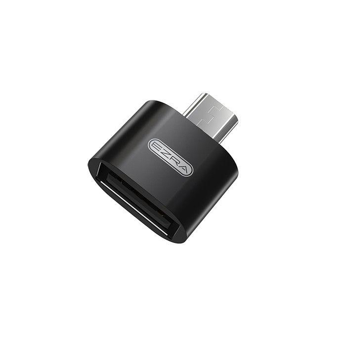 EZRA OC04 переходник OTG (гнездо USB 2.0 - штекер microUSB)