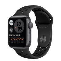 Часы Apple Watch SE GPS 40mm Aluminum Case with Nike Sport Band