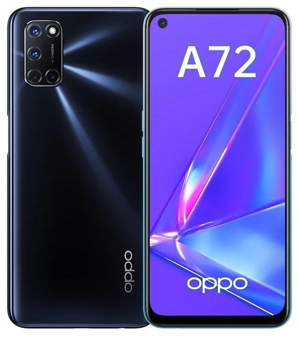 Смартфон OPPO A72 128GB