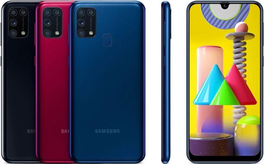 Смартфон Samsung Galaxy M31 RU