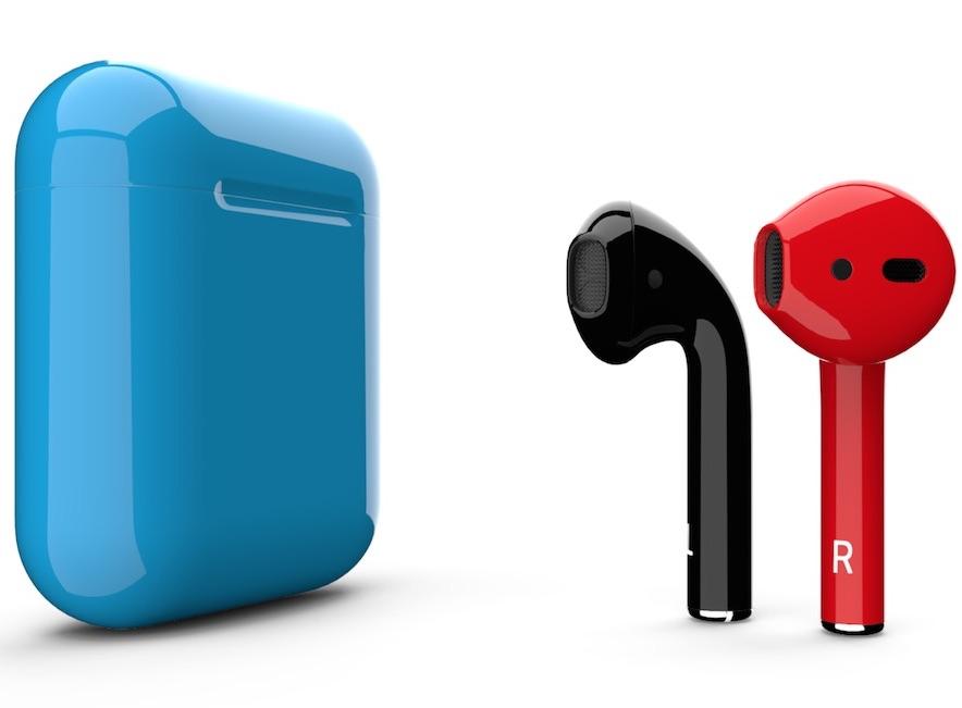 Наушники Apple AirPods 2 Color (чехол без беспроводной зарядки)