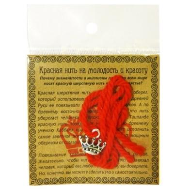 Красная нить серебр. (корона)