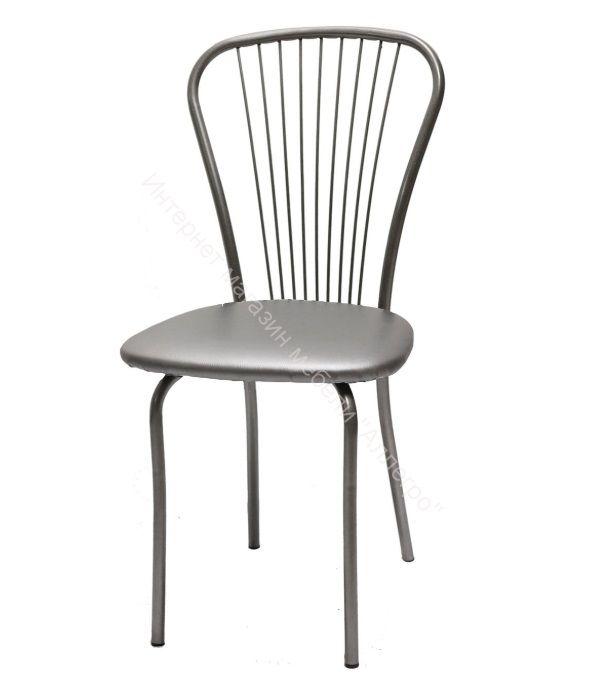 """Кухонный стул """"Лайт 1"""" серебристый металлик/металлик"""