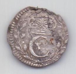 1 оре - эре 1683 года Швеция Редкий год!!!