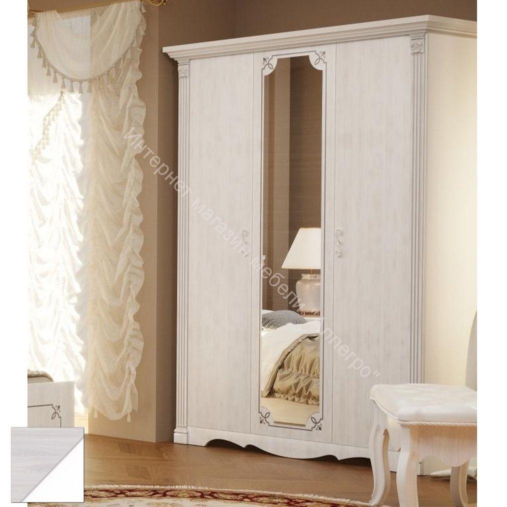 """Шкаф """"Ольга-1Н"""" 3-х дверный для одежды и белья"""