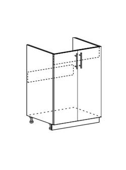 Шкаф для мойки Юлия ШНМ 600