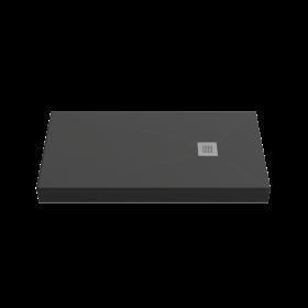 Душевой поддон BAS Essentia 100x70, черный