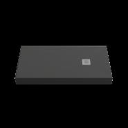 Душевой поддон BAS Essentia 100x80, черный