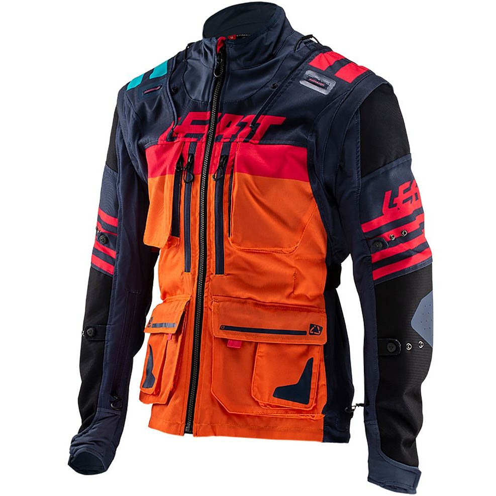 Leatt GPX 5.5 Enduro Ink/Orange мотокрутка
