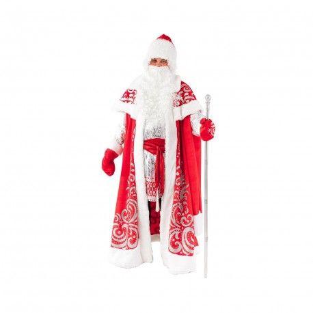 Костюм карнавальный Дед Мороз Царский р.182-54-56