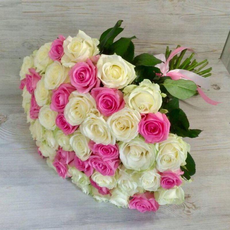 Кенийские розы 40 см. (В наличии разные цвета, уточняйте)
