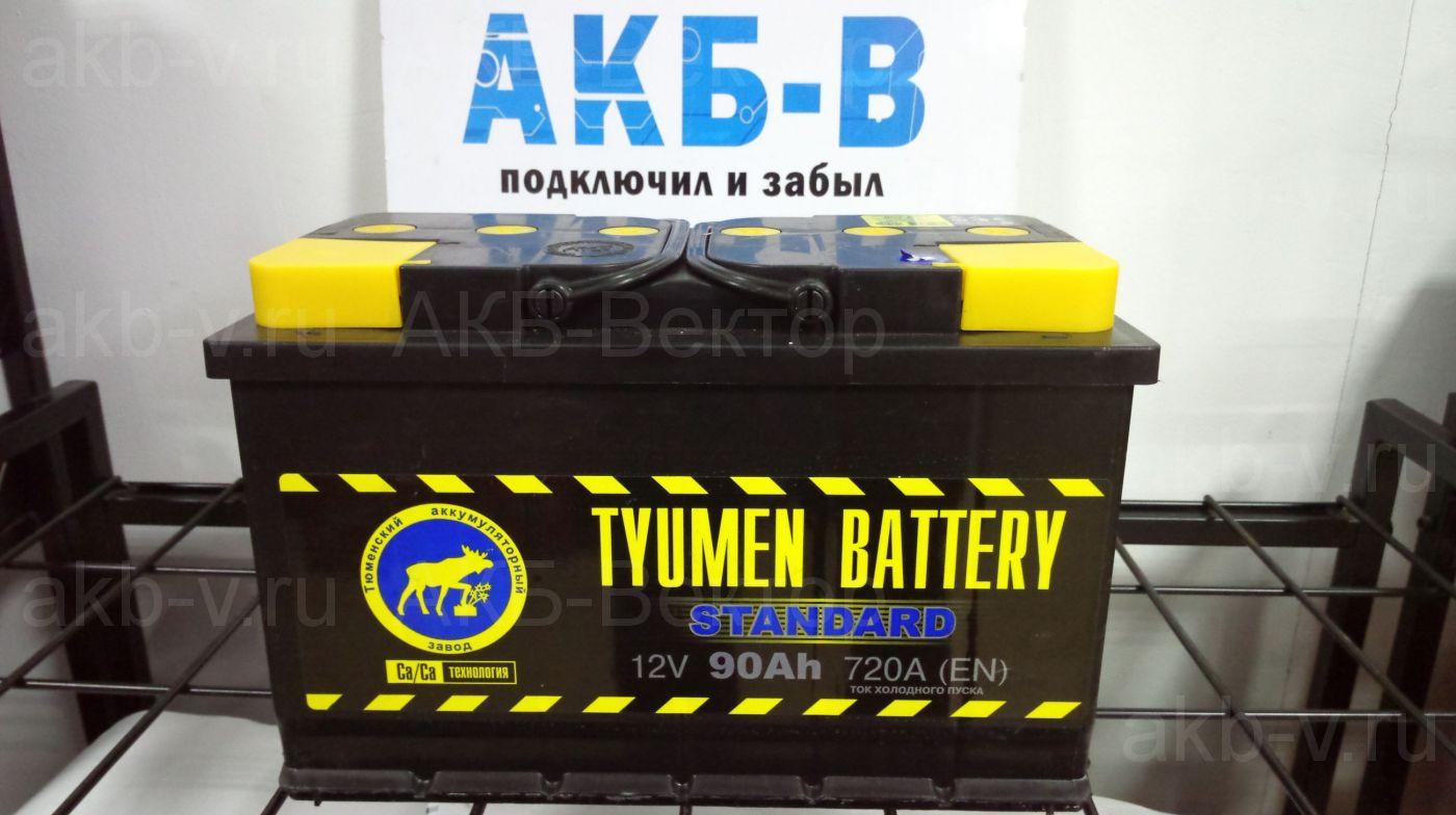 Tyumen Standart  90Ач 720А(EN)