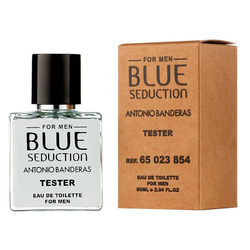 Мини Tester Antonio Banderas Blue Seduction Men 50 мл (ОАЭ)