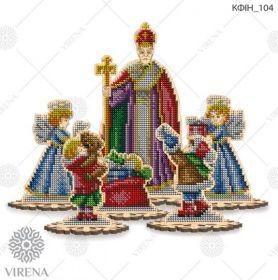 КФІН_104 Virena. Комплект фигурок из дерева для вышивки бисером (набор 2450 рублей)