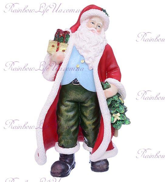 "Фигурка новогодняя ""Санта с подарками"""