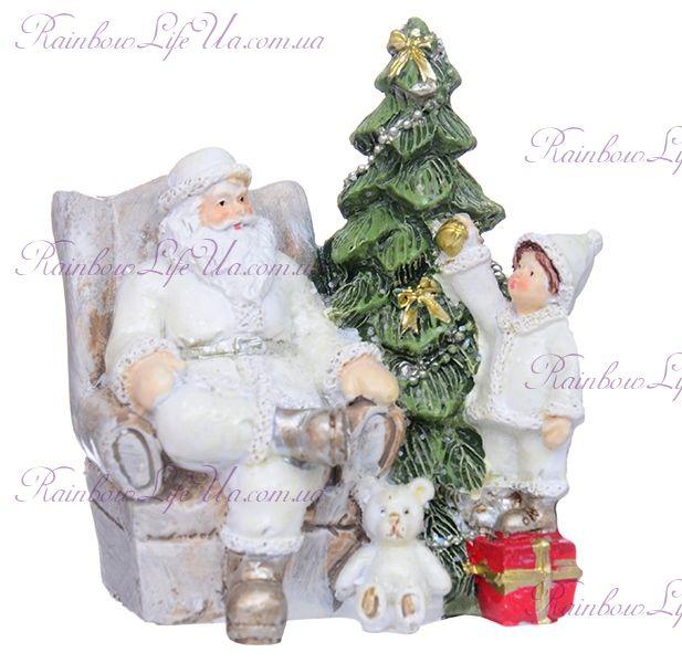 "Фигурка новогодняя ""Санта в ожидании..."""
