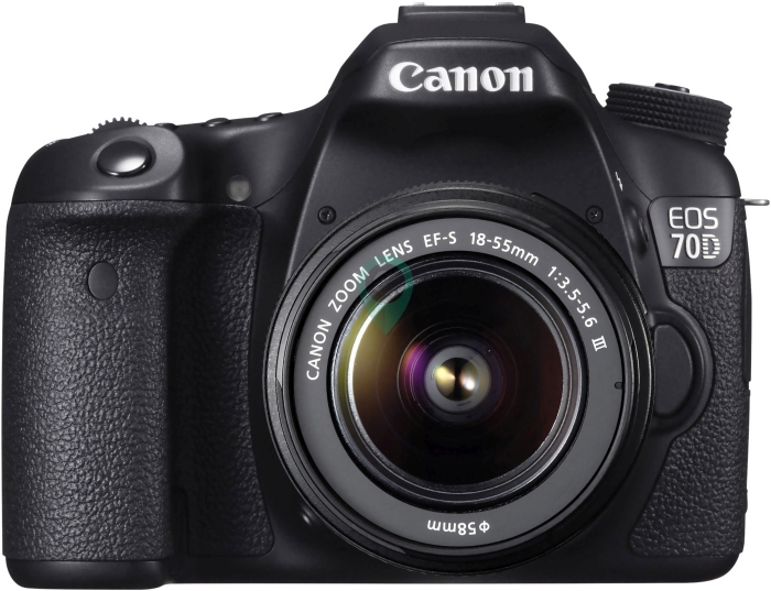 CANON EOS 70D kit 18-55 IS ll