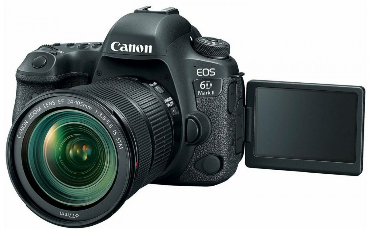 Фотоаппарат Canon EOS 6D Mark II Kit 24-105mm is STM