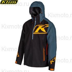 Куртка Klim Powerxross Pullover, Черно-синяя мод.2021