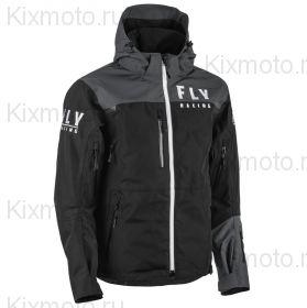 Куртка Fly Carbon, Чернo-серая мод.2021