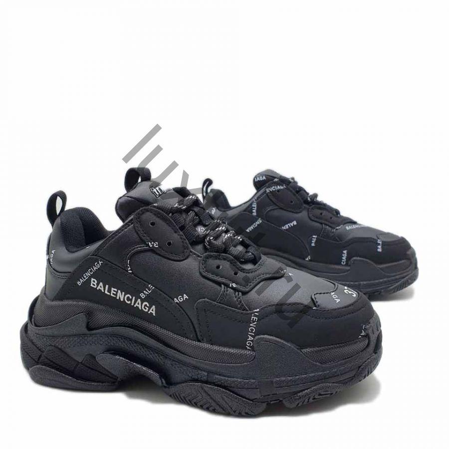 Кроссовки Balenсiagа Triple s черные